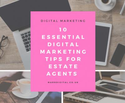 Digital marketing estate agents