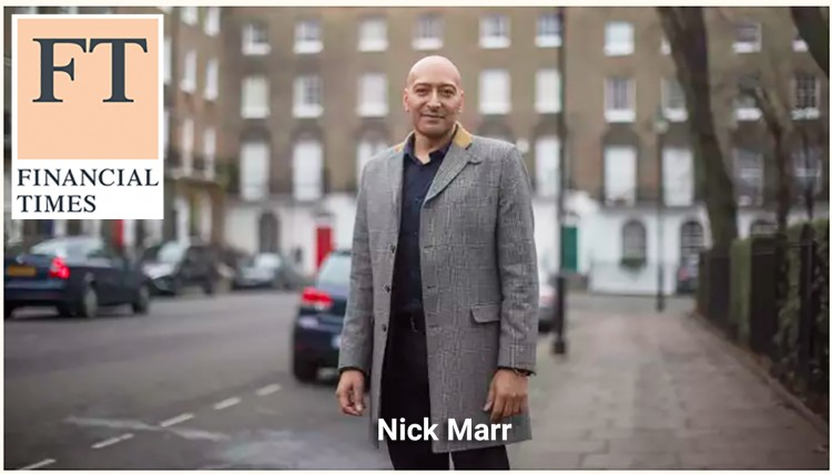 Nick Marr aprears in the FT